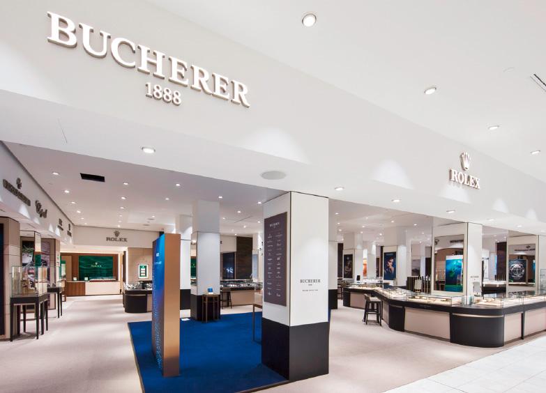 1fd5a2229b8 The ILLUM department store in Copenhagen is located in Denmark's most  exclusive retail district. Bucherer's elegant, modern boutique in ILLUM has a  shop ...