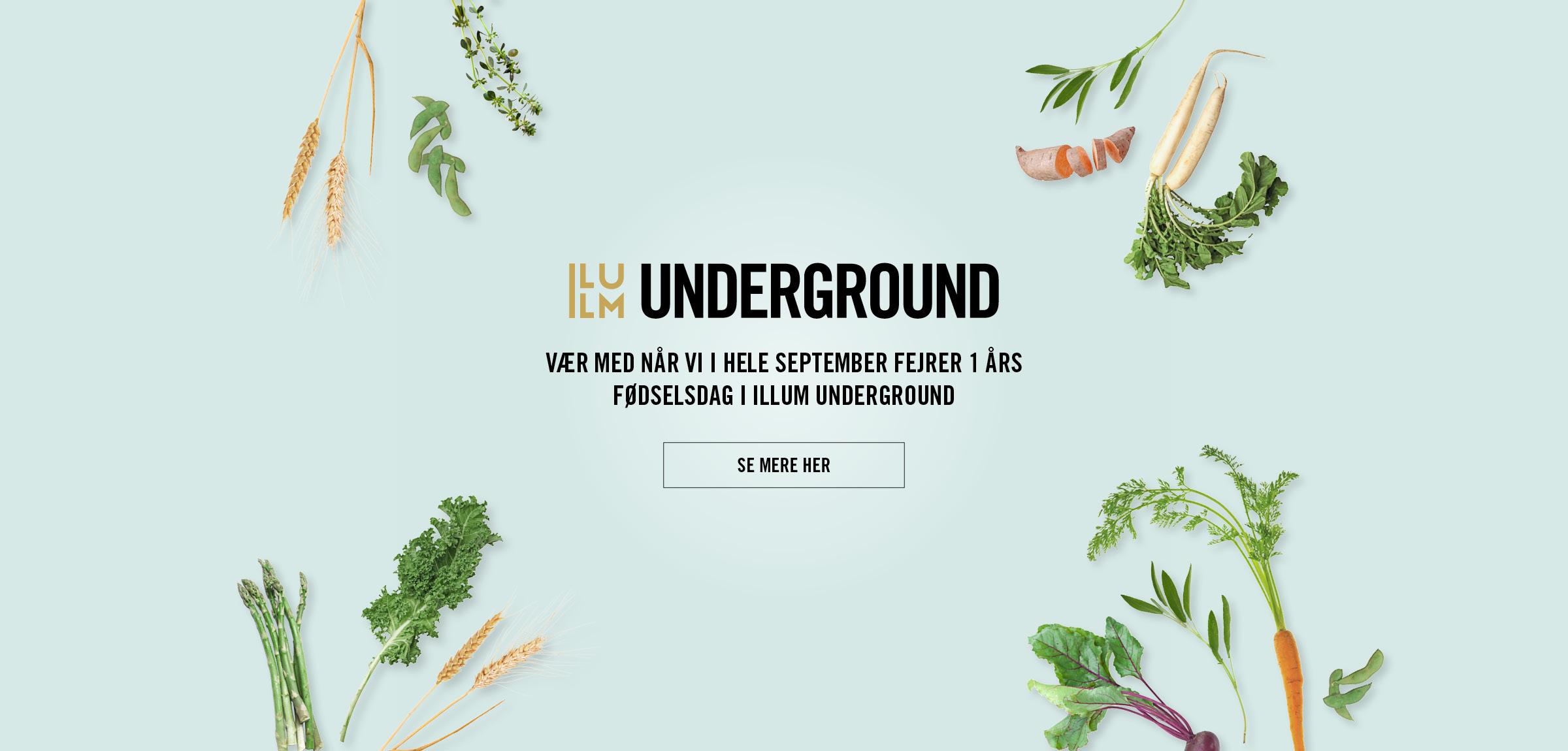 Underground fylder år