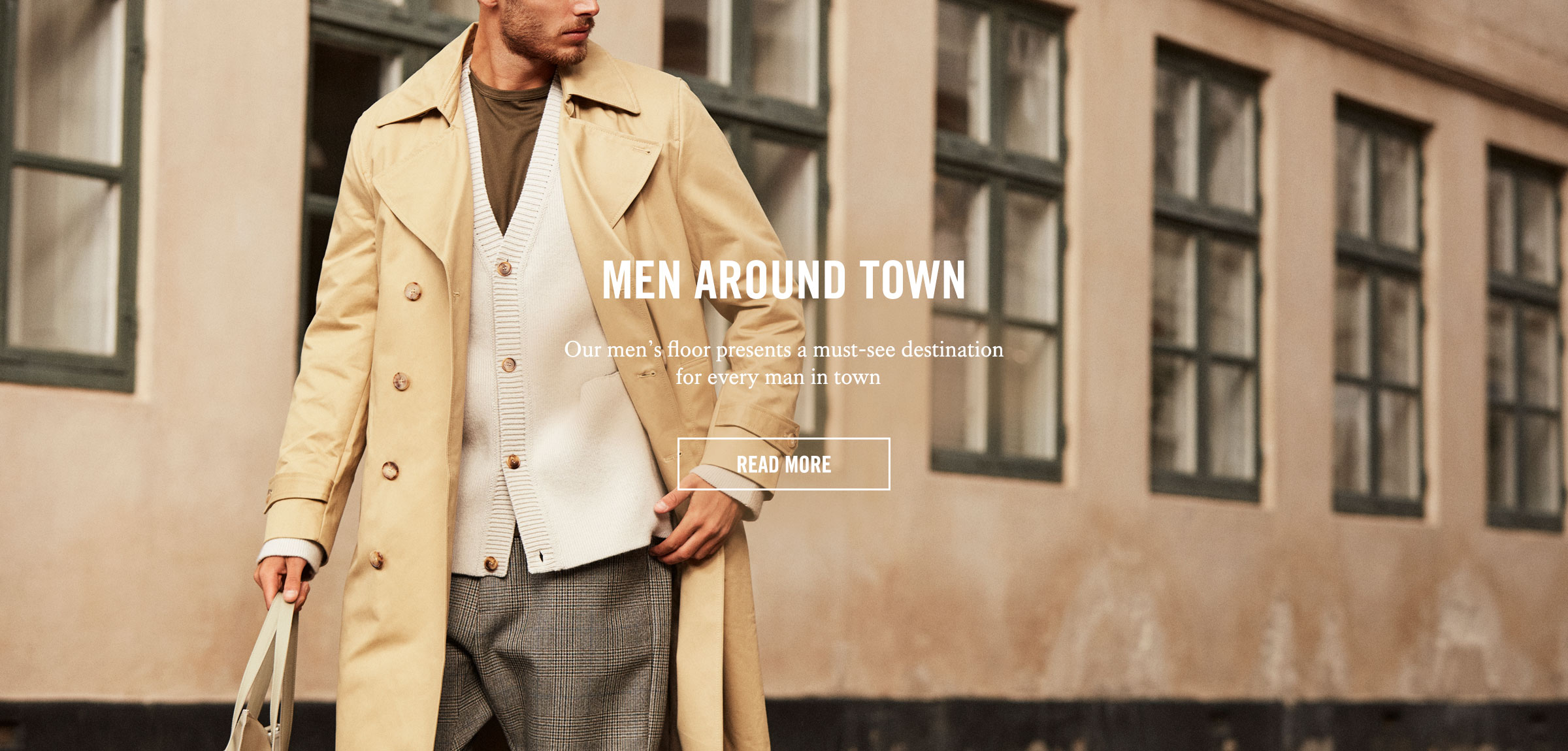 Men's Fashion (Homepage Banner) UK